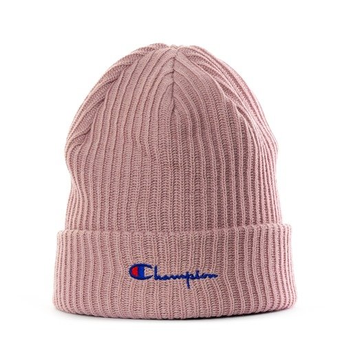 outlet store 159c5 399a4 Champion beanie Script Logo pink (804413 F18 PS096) Pink   Caps ...