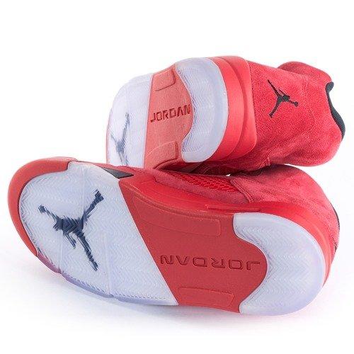 promo code 894a2 0d852 ... Jordan V Retro Red Suede university red   black (136027-602) Click to  zoom. 1