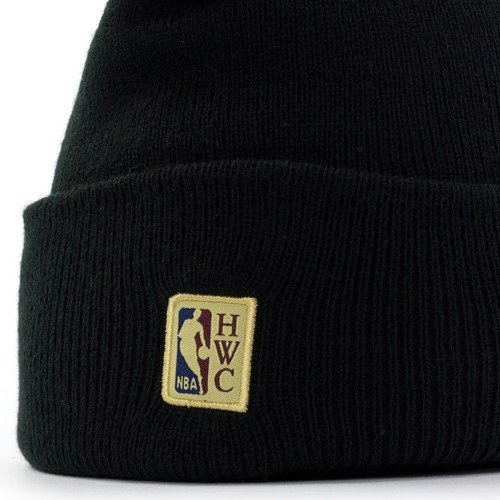 1a09b5dbc45dc4 Mitchell and Ness HWC Team Logo Knit Los Angeles Lakers black Los ...