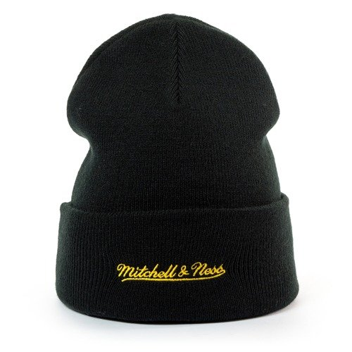 2d9683801ee ... Mitchell and Ness Logo Cuff Knit Seattle SuperSonics black Click to  zoom. 1