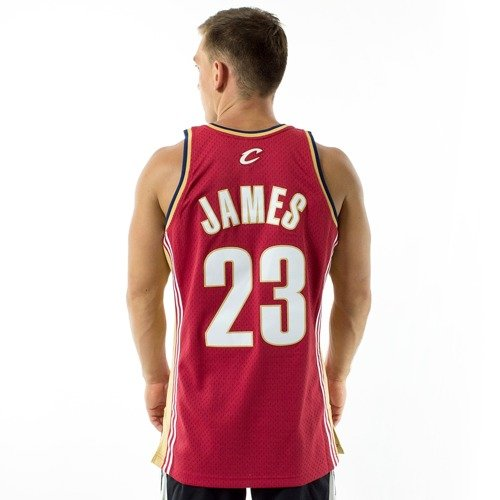... Mitchell and Ness Swingman Jersey HWC Cleveland Cavaliers Lebron James  2003-04 burgundy Click to zoom. 1 c2f52a826