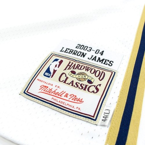 b1dae568c99c ... Mitchell and Ness authentic jersey HWC Cleveland Cavaliers Lebron James  2003-04 white Click to zoom. 1