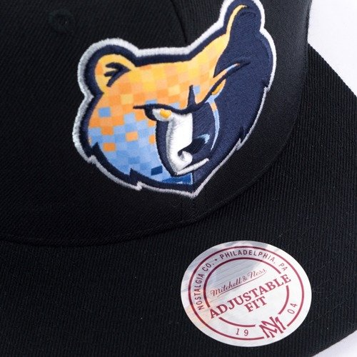 online retailer 9fa17 465c1 ... Mitchell and Ness snapback Easy Three Digital XL Memphis Grizzlies  black Click to zoom. 1