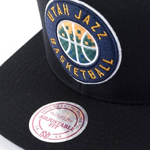 1588d3a42f14 ... Mitchell and Ness snapback Easy Three Digital XL Utah Jazz black Click  to zoom. 1