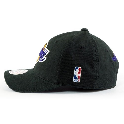 f5f23013f1282 ... Mitchell and Ness snapback Flexfit 110 Low Pro Los Angeles Lakers black  Click to zoom. 1