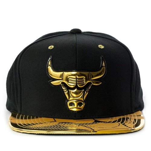 ... Mitchell and Ness snapback Gold Standard Chicago Bulls black Click to  zoom. 1 2d3d972fb4f5