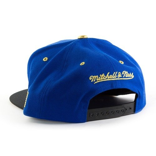 huge discount 89ef4 5bb5d ... Mitchell and Ness snapback Gold Tip Golden State Warriors royal   black    gold Click to zoom. 1