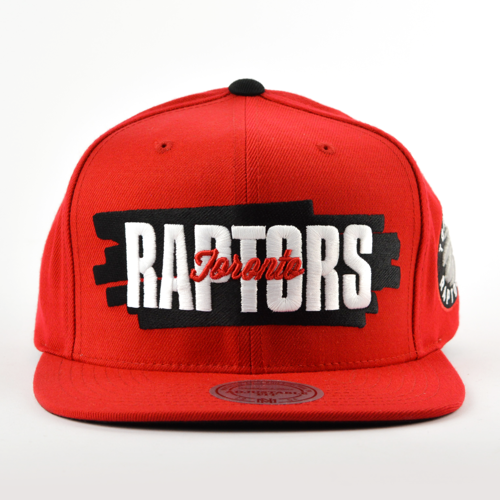 2c1dcffb1c8 Mitchell and Ness snapback Winning Streak Toronto Raptors red ...
