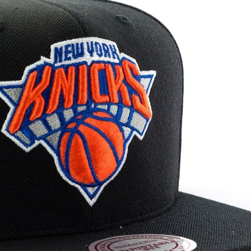 8ed2332f5f1 ... Mitchell and Ness snapback Wool Solid New York Knicks black Click to  zoom. 1