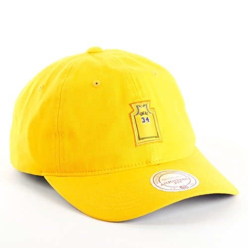the latest 63289 0bb0a ... Mitchell and Ness strapback Small Jersey Los Angeles Lakers Shaquille O  Neal yellow Click to zoom. 1