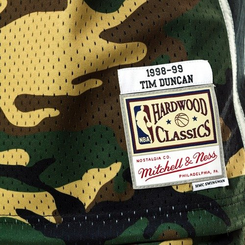 c8b4263b0 ... Mitchell and Ness swingman jersey Camo QS San Antonio Spurs Tim Duncan  woodland camo Click to zoom. 1