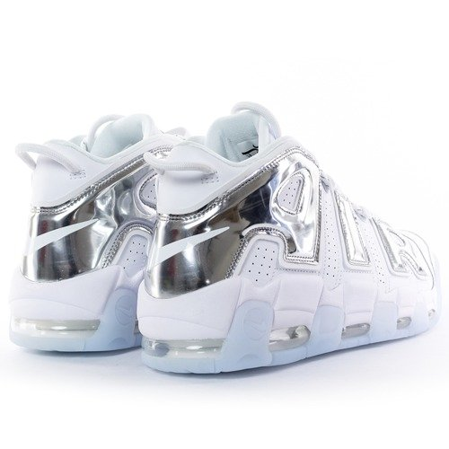 ... Nike Air More Uptempo white   chrome   blue tint (917593-100) Click to  zoom. 1 b21082db67
