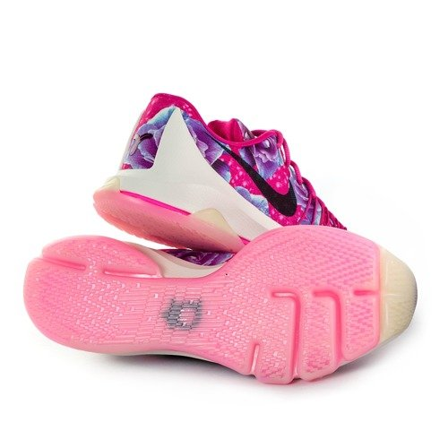 reputable site bf1a0 2f765 ... Nike KD 8 PRM Kevin Durant Aunt Pearl Cancer Vivid Pink Black-Phantom (  Click to zoom. 1
