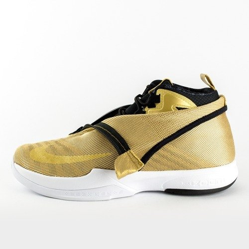 free shipping 8999c b868b Nike Zoom Kobe Icon Jaquard gold   white (819858-700)   Sneakers ...