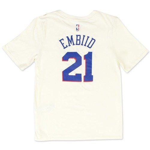 57c7d88b0 ... Nike t-shirt City Edition ES Philadephia 76ers Joel Embiid natural  (EZ2B7NAAC-76RJL Click to zoom. 1