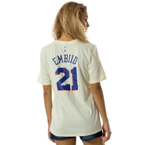 b99d94fa7 ... Nike t-shirt WMNS City Edition ES Philadephia 76ers Joel Embiid natural  (EZ2B7NAAC- Click to zoom. 1