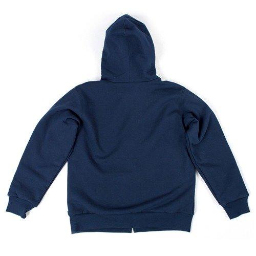 48640cda ... Supreme Arc Logo Thermal Zip Up Sweatshirt navy Click to zoom. 1
