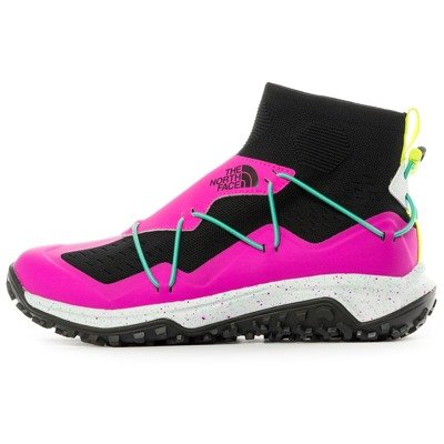 99d695c2 Buty męskie The North Face M Sihl Mid Pop III pink glo / tnf black (