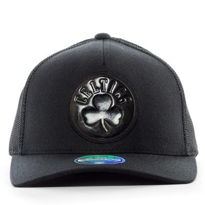 bebbffeb37f8f Czapka z daszkiem Mitchell and Ness snapback Zig Zag Trucker Boston Celtics  black