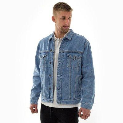 c9bfc8cf1b1ba Kurtka męska Carhartt WIP Western Jacket Milton Blue Denim blue stone washed