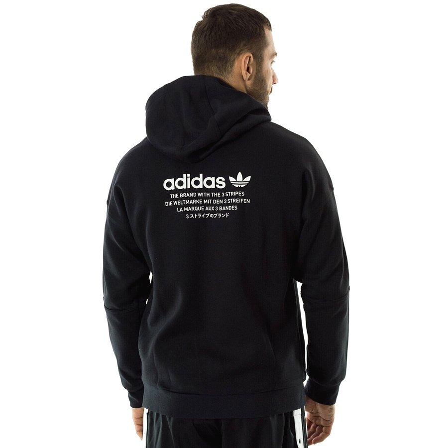 Bluza męska Adidas Originals hoody NMD FZ black (DH2255)