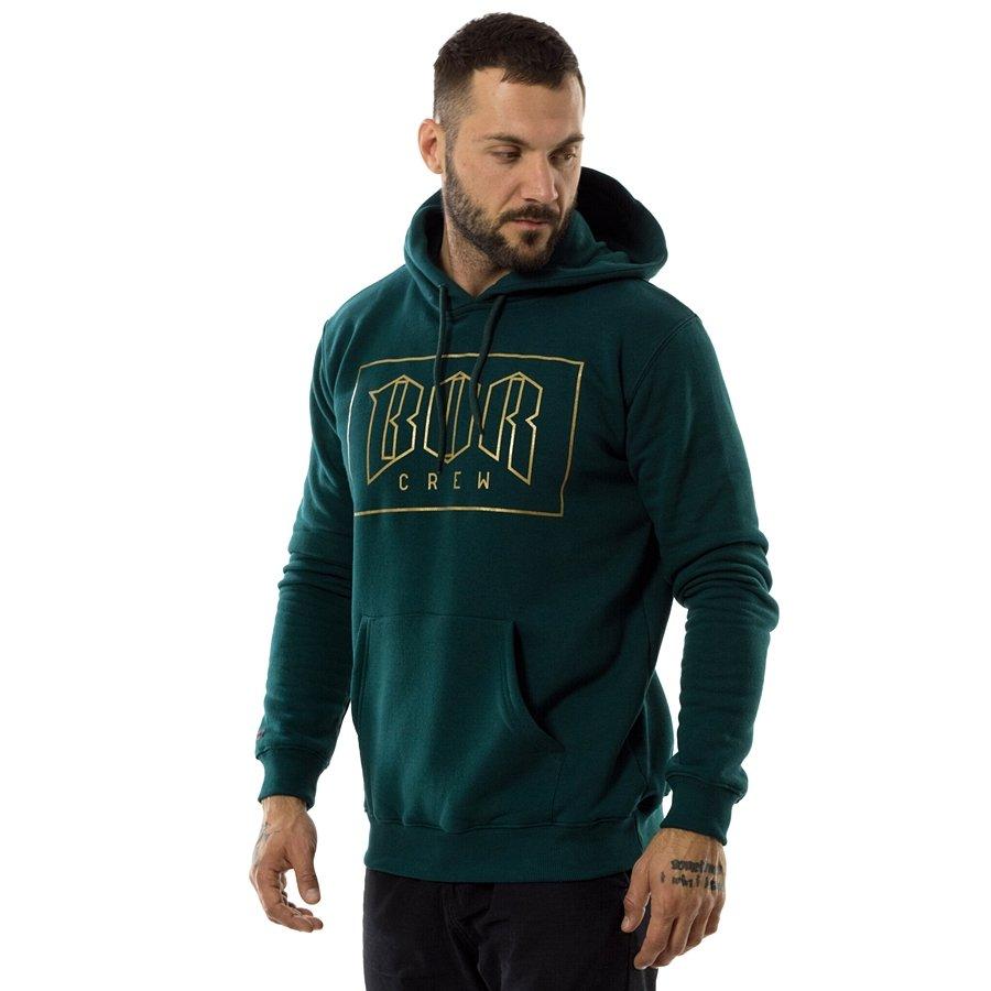 sprzedaż najlepiej kochany najwyższa jakość Bluza męska BOR hoody New Outline bottle green