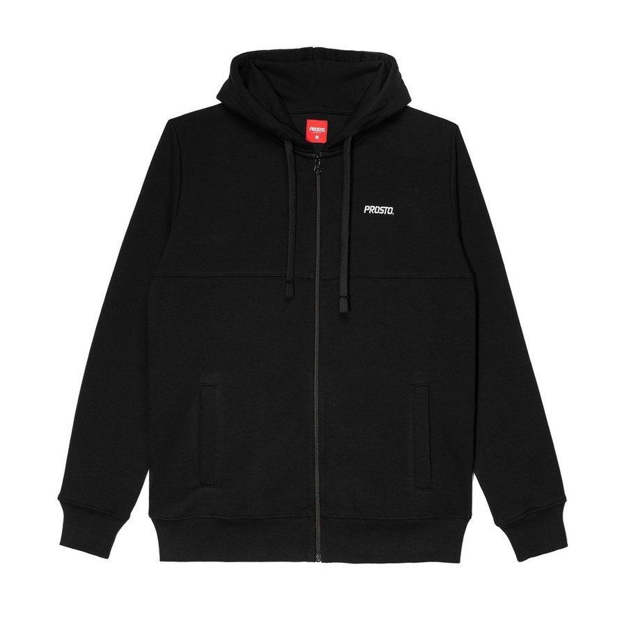 Bluza Prosto HOODY DOUBLE BASIC black