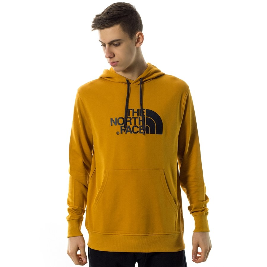 Bluza męska z kapturem The North Face hoody M LT Drew Peak PO citrine yellow (T0A0TEHBX)