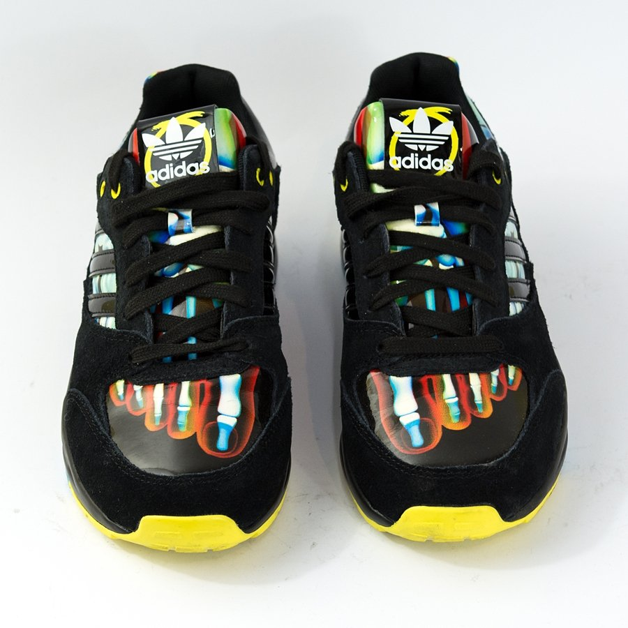 Buty Adidas Originals Tech Super W Rita Ora black yellow (B26724) TM