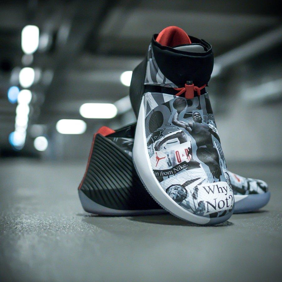 Buty do koszykówki Air Jordan Why Not Zero.1 Mirror Image multicolor (AA2510 104)