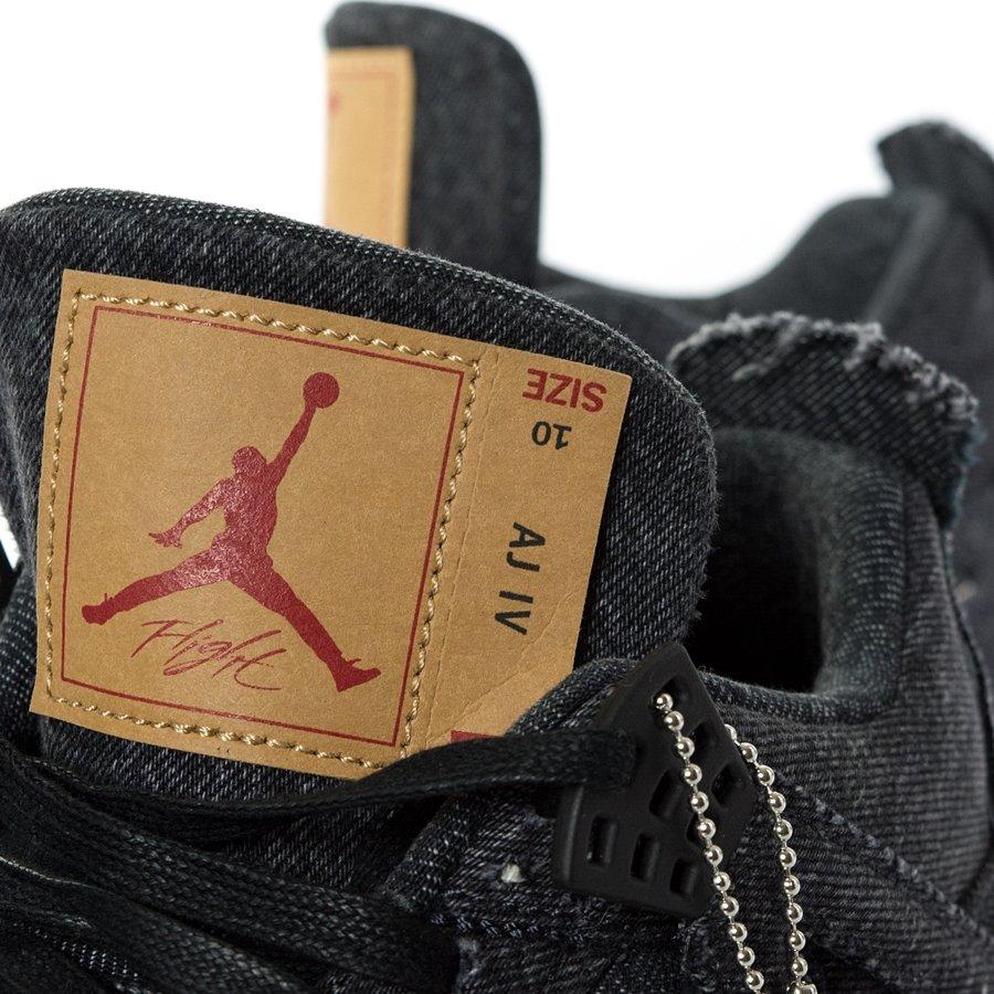Buty męskie Jordan 4 Retro Levis black jeans (A02571 001) TM