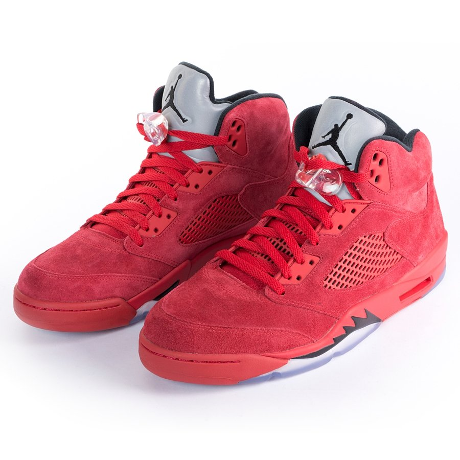Buty Nike Air Jordan 5 red Suede 136027 602 R 40