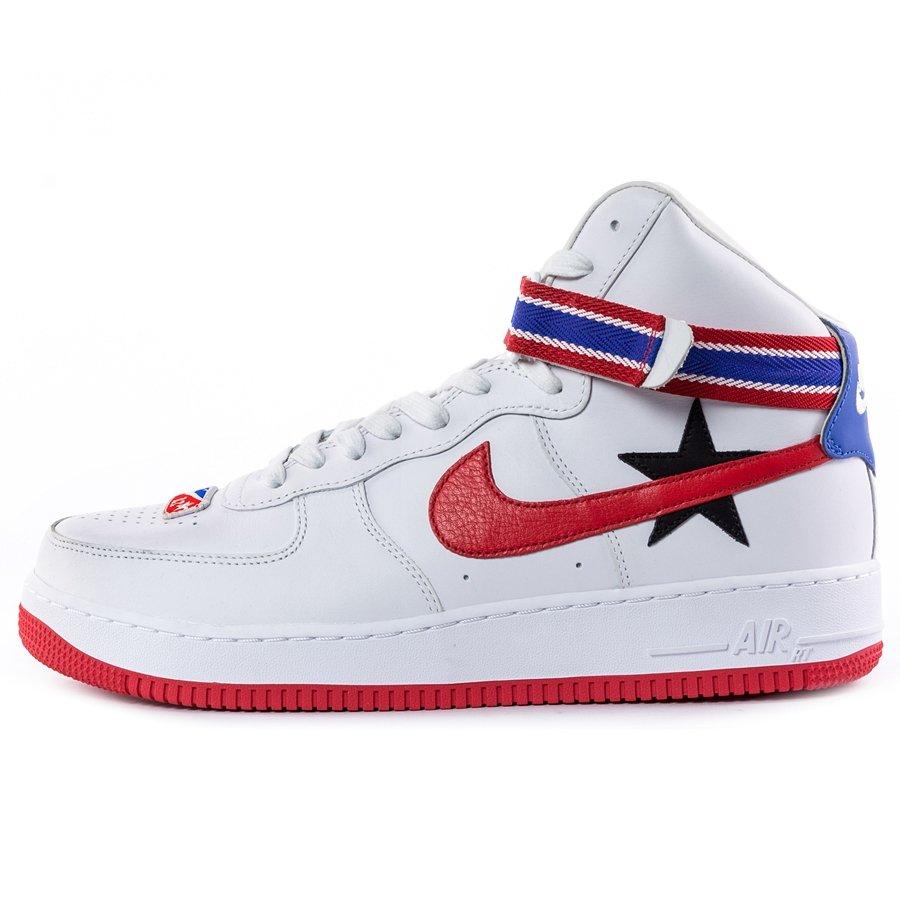 best sneakers fc883 4b331 Buty męskie Nike Lab x Riccardo Tisci Air Force 1 High white (AQ3366-100  Kliknij, aby powiększyć ...