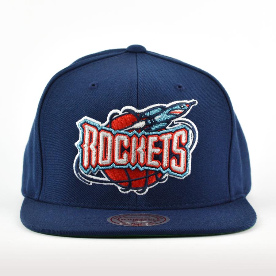 best website 7ca20 3db70 Czapka Mitchell and Ness snapback Wool Solid Houston Rockets navy Kliknij,  aby powiększyć ...