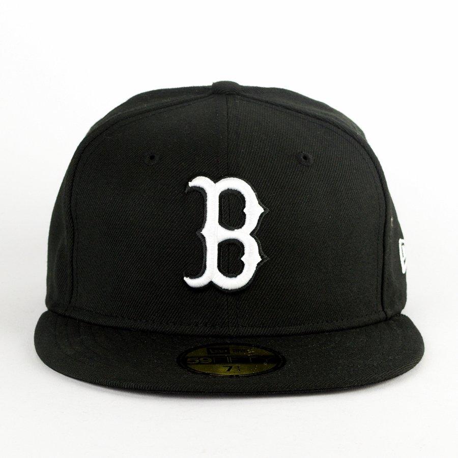 konkurencyjna cena oficjalny sklep szczegółowe zdjęcia Czapka New Era fitted Boston Red Sox Basic black 59FIFTY