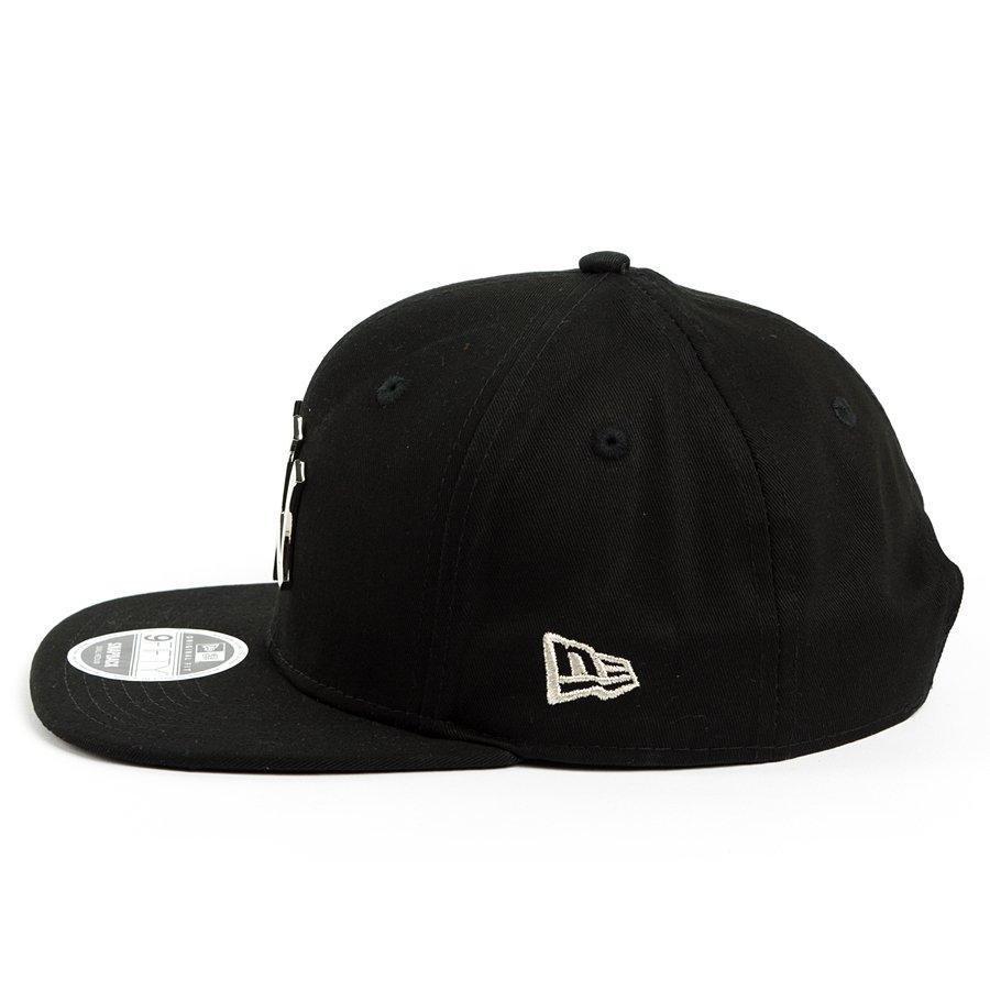 autentyczna jakość Nowe Produkty tanie trampki Czapka New Era snapback Metal Badge New York Yankees black 9FIFTY
