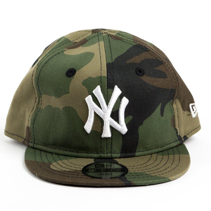 ekskluzywne buty pierwsza stawka outlet na sprzedaż Czapka dziecięca New Era snapback New York Yankees Basic Camo Infant 9FIFTY