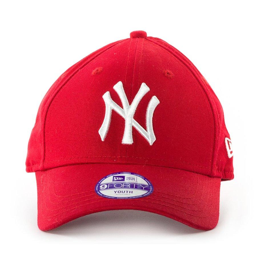 stabilna jakość sekcja specjalna zegarek Czapka dziecięca New Era strapback 9FORTY New York Yankees red