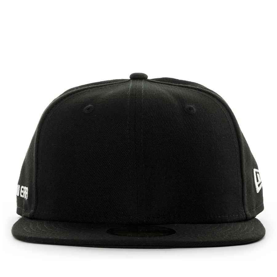 przyjazd ładne buty wspaniały wygląd Czapka z daszkiem New Era fitted cap 59FIFTY NE Side black