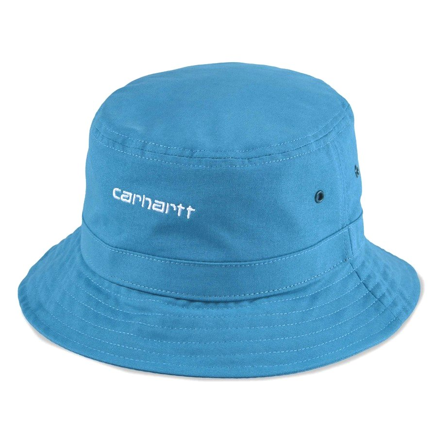 Kapelusz Carhartt WIP Script Bucket Hat pizol white