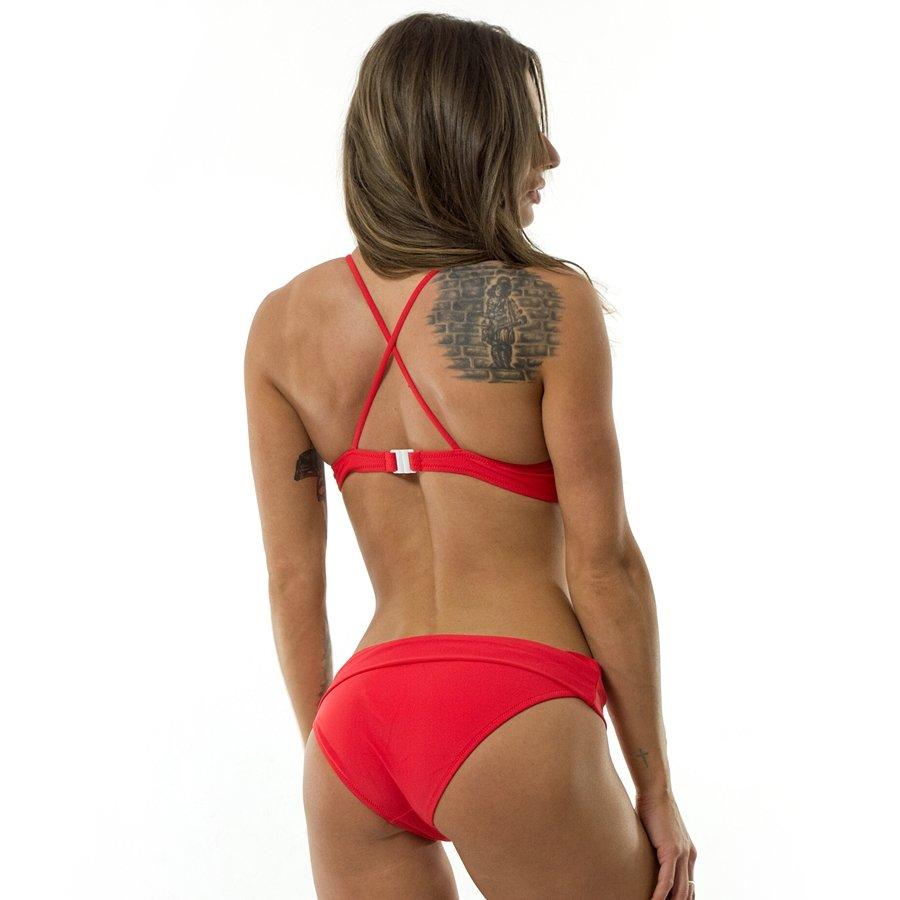 100% jakości Gdzie mogę kupić 100% autentyczny Kostium kąpielowy Champion Logo Zigzag Bikini red