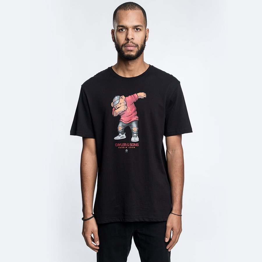 Koszulka Cayler and Sons T-shirt WL Dabbin' Crew Tee black ...