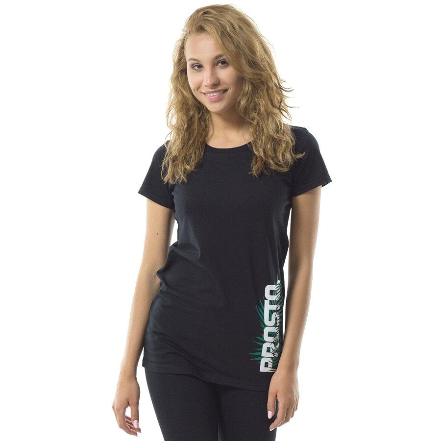 e2840c739 Koszulka damska Prosto Klasyk t-shirt Leaf Foeva black Kliknij, aby  powiększyć ...