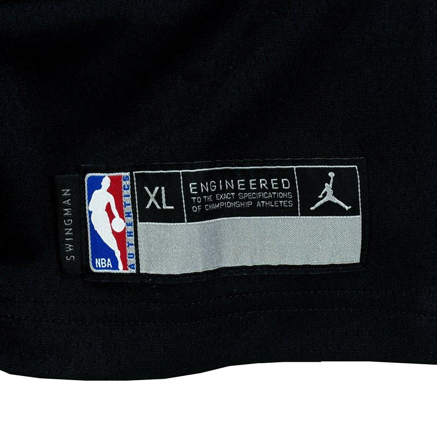 Koszulka dziecięca Jordan swingman jersey City Edition ES Charlotte Hornets Kemba Walker black (EZ2B7BY1P HORKW)