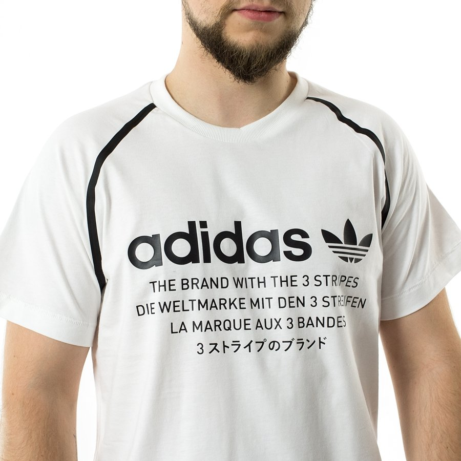 ea23060e565eb2 Koszulka męska Adidas Originals t-shirt NMD D-Tee white (CE7249) 40 ...