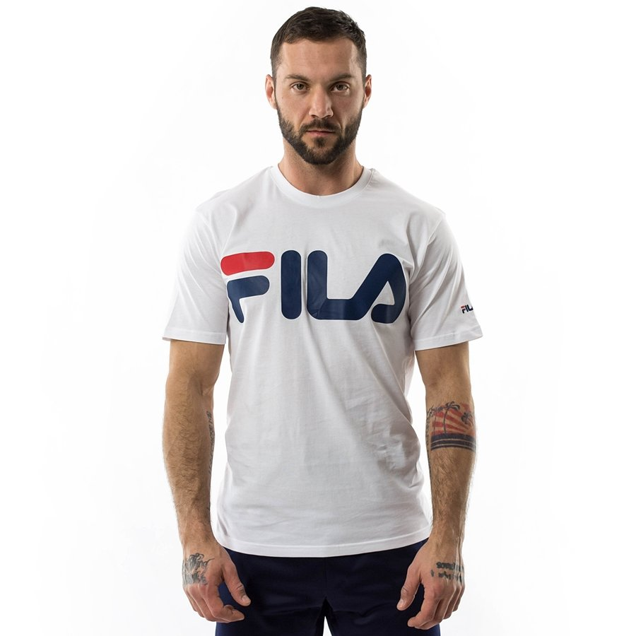 753aaf458d34 Koszulka męska FILA t-shirt Classic Logo bright white Kliknij