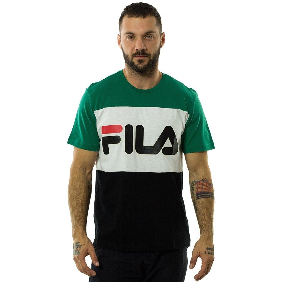 8702cff4dff6 Koszulka męska FILA t-shirt Men Day black   bright white   shady ...