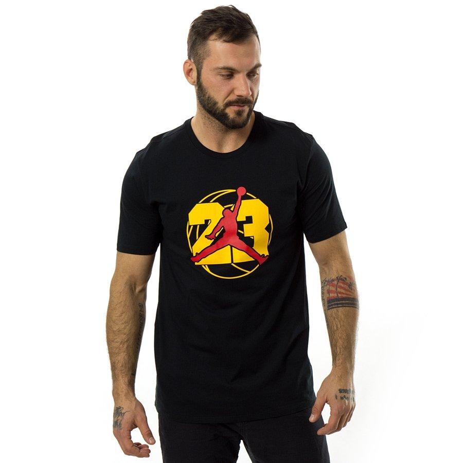 sprzedaż obuwia klasyczny styl niższa cena z Koszulka męska Jordan AJ 13 black (AR7978-010)