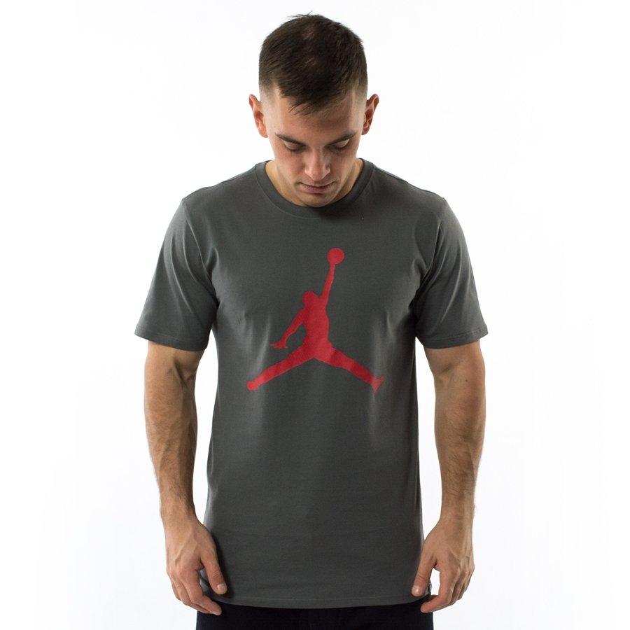 dostać nowe klasyczne dopasowanie najlepiej sprzedający się Koszulka męska Jordan t-shirt Sportswear Brand 6 grey (908017-018)