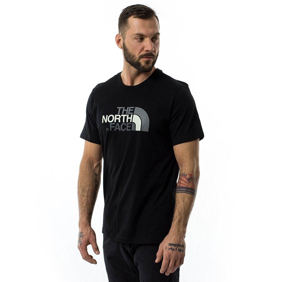 różne kolory tania wyprzedaż tanie z rabatem Koszulka męska The North Face T-shirt Easy Tee black (T92TX3JK3)